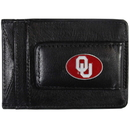 Siskiyou Buckle CLMC48 Oklahoma Sooners Leather Cash & Cardholder