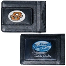 Siskiyou Buckle CLMC58 Oklahoma State Cowboys Leather Cash & Cardholder