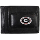 Siskiyou Buckle CLMC5 Georgia Bulldogs Leather Cash & Cardholder