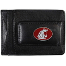 Siskiyou Buckle CLMC71 Washington St. Cougars Leather Cash & Cardholder