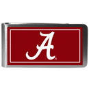 Siskiyou Buckle CLMP13 Alabama Crimson Tide Steel Logo Money Clips