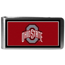 Siskiyou Buckle CLMP38 Ohio St. Buckeyes Steel Logo Money Clips