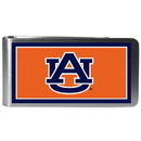 Siskiyou Buckle CLMP42 Auburn Tigers Steel Logo Money Clips