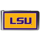 Siskiyou Buckle CLMP43 LSU Tigers Steel Logo Money Clips