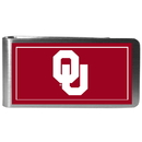 Siskiyou Buckle CLMP48 Oklahoma Sooners Steel Logo Money Clips