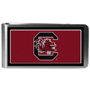 Siskiyou Buckle CLMP63 S. Carolina Gamecocks Steel Logo Money Clips