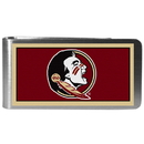 Siskiyou Buckle CLMP7 Florida St. Seminoles Steel Logo Money Clips
