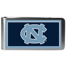 Siskiyou Buckle CLMP9 N. Carolina Tar Heels Steel Logo Money Clips