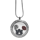 Siskiyou Buckle Auburn Tigers Locket Necklace, CLOC42