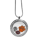 Siskiyou Buckle Clemson Tigers Locket Necklace, CLOC69