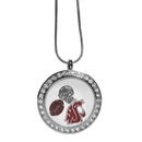 Siskiyou Buckle Washington St. Cougars Locket Necklace, CLOC71
