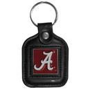 Siskiyou Buckle CLS13 Alabama Crimson Tide Square Leather Key Chain
