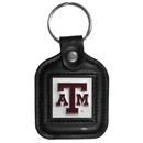 Siskiyou Buckle CLS26 Texas A & M Aggies Square Leather Key Chain
