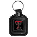 Siskiyou Buckle CLS30 Texas Tech Raiders Square Leather Key Chain