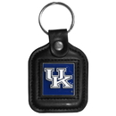 Siskiyou Buckle CLS35 Kentucky Wildcats Square Leather Key Chain