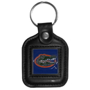 Siskiyou Buckle CLS4 Florida Gators Square Leather Key Chain