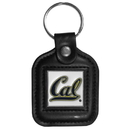 Siskiyou Buckle CLS56 Cal Berkeley Bears Square Leather Key Chain