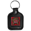 Siskiyou Buckle CLS64 Maryland Terrapins Square Leather Key Chain