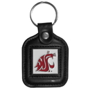 Siskiyou Buckle CLS71 Washington St. Cougars Square Leather Key Chain
