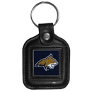 Siskiyou Buckle CLS74 College Leather Key Ring - Montana State Bobcats