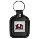 Siskiyou Buckle CLS75 Montana Grizzlies Square Leather Key Chain