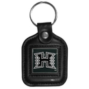 Siskiyou Buckle CLS99 Hawaii Warriors Square Leather Key Chain