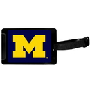 Siskiyou Buckle Michigan Wolverines Luggage Tag, CLTS36
