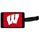 Siskiyou Buckle Wisconsin Badgers Luggage Tag, CLTS51
