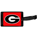 Siskiyou Buckle Georgia Bulldogs Luggage Tag, CLTS5
