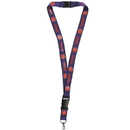 Siskiyou Buckle CLY69 Clemson Tigers Lanyard