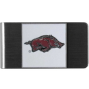 Siskiyou Buckle CMCL12 Arkansas Razorbacks Steel Money Clip