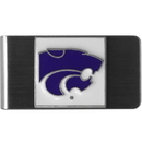 Siskiyou Buckle CMCL15 Kansas St. Wildcats Steel Money Clip