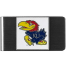 Siskiyou Buckle CMCL21 Kansas Jayhawks Steel Money Clip