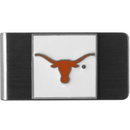 Siskiyou Buckle CMCL22 Texas Longhorns Steel Money Clip