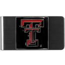 Siskiyou Buckle CMCL30 Texas Tech Raiders Steel Money Clip
