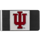 Siskiyou Buckle CMCL39 Indiana Hoosiers Steel Money Clip