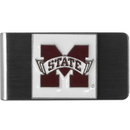 Siskiyou Buckle CMCL45 Mississippi St. Bulldogs Steel Money Clip