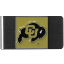 Siskiyou Buckle CMCL57 Colorado Buffaloes Steel Money Clip