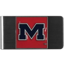 Siskiyou Buckle CMCL59 Mississippi Rebels Steel Money Clip