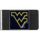 Siskiyou Buckle CMCL60 W. Virginia Mountaineers Steel Money Clip