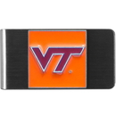 Siskiyou Buckle CMCL61 Virginia Tech Hokies Steel Money Clip
