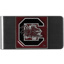 Siskiyou Buckle CMCL63 S. Carolina Gamecocks Steel Money Clip