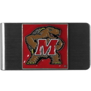 Siskiyou Buckle CMCL64 Maryland Terrapins Steel Money Clip