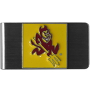 Siskiyou Buckle CMCL68 Arizona St. Sun Devils Steel Money Clip