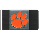 Siskiyou Buckle CMCL69 Clemson Tigers Steel Money Clip