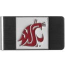 Siskiyou Buckle CMCL71 Washington St. Cougars Steel Money Clip