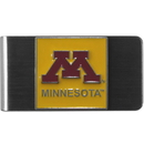 Siskiyou Buckle CMCL77 Minnesota Golden Gophers Steel Money Clip