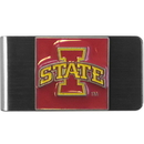 Siskiyou Buckle CMCL83 Iowa St. Cyclones Steel Money Clip