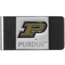 Siskiyou Buckle CMCL84 Purdue Boilermakers Steel Money Clip