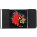 Siskiyou Buckle CMCL88 Louisville Cardinals Steel Money Clip